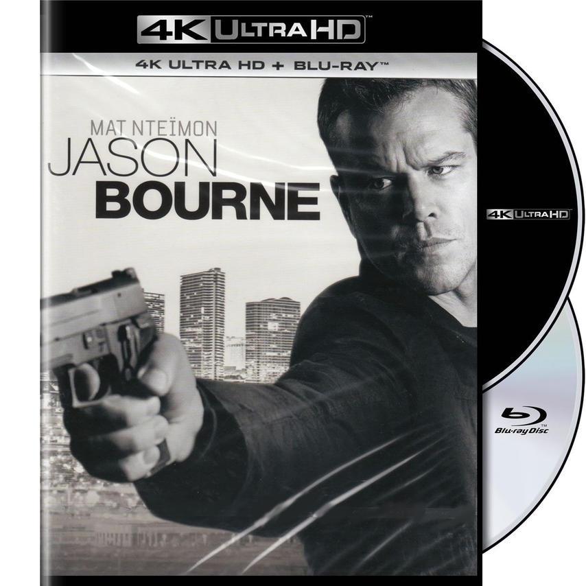 4K JASON BOURNE [BLU RAY]
