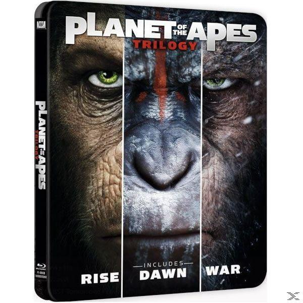 PLANET OF THE APES TRILOGY STB [BLU RAY]