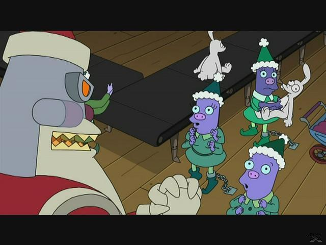 Futurama - Bender's Big Score [DVD]