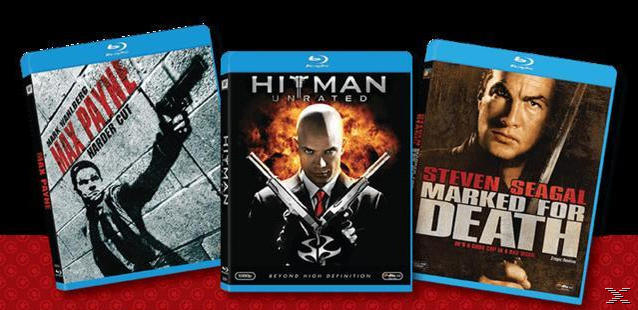 MAX P-HITMAN-MARKED FOR D[BLU RAY]