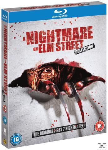 A Nightmare on Elm Street - The Original First 7 Nightmares Bluray Box