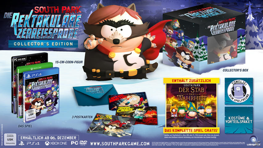 South Park: Die rektakuläre Zerreissprobe - Collector's Edition [PC]