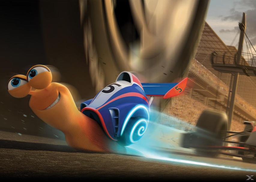 Turbo - Kleine Schnecke, großer Traum (3D, Exlusive Steelbookedition) [3D Blu-ray (+2D)]