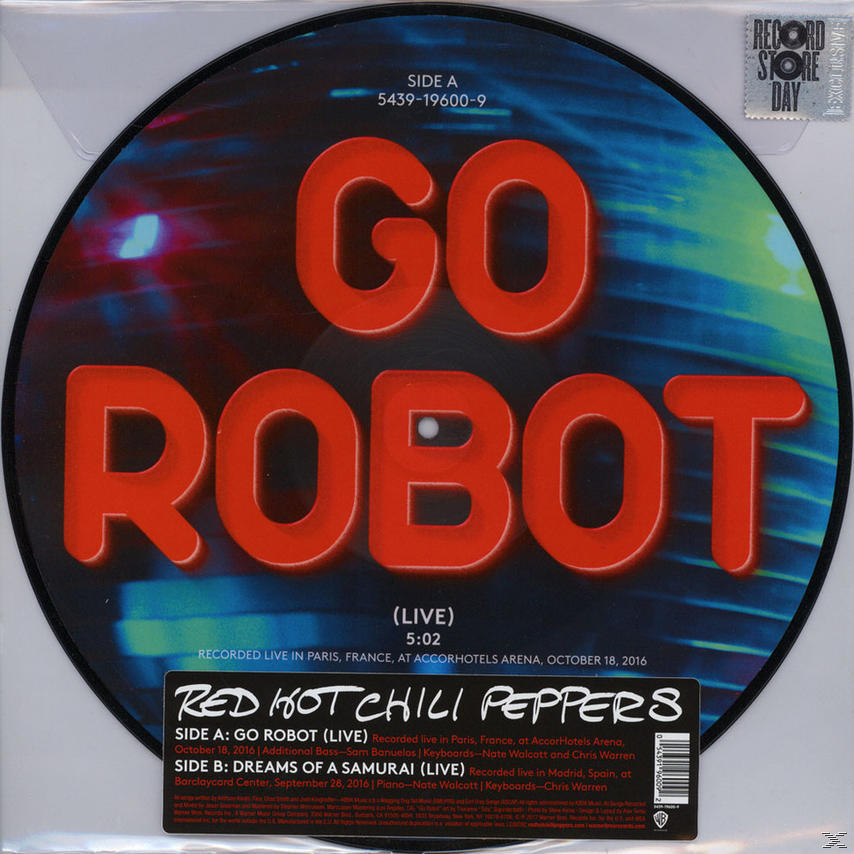 GO ROBOT/DREAMS OF A SAMURAI (LP RSD)