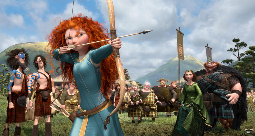 Merida - Legende der Highlands - (Blu-ray)