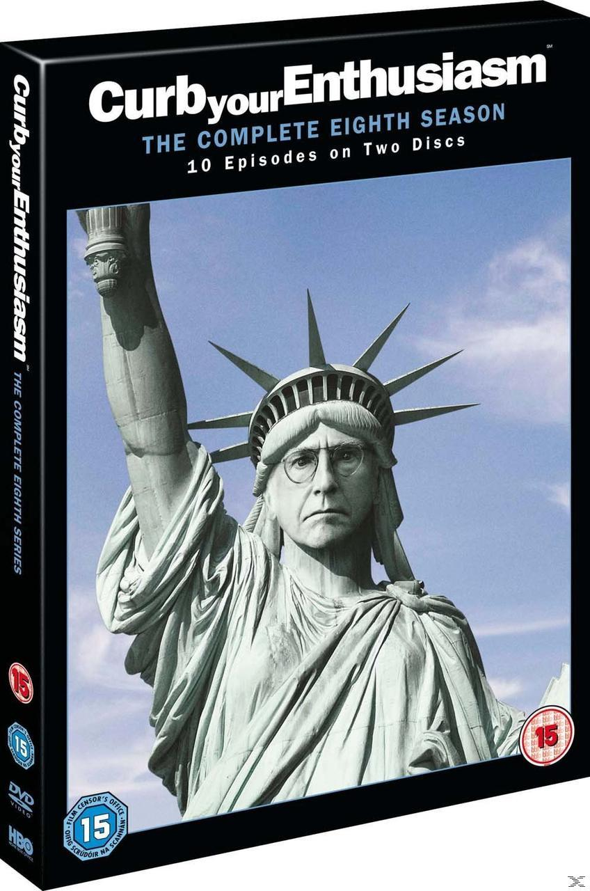 CURB YOUR ENTHUSIASM SEASON 8 (DVD)