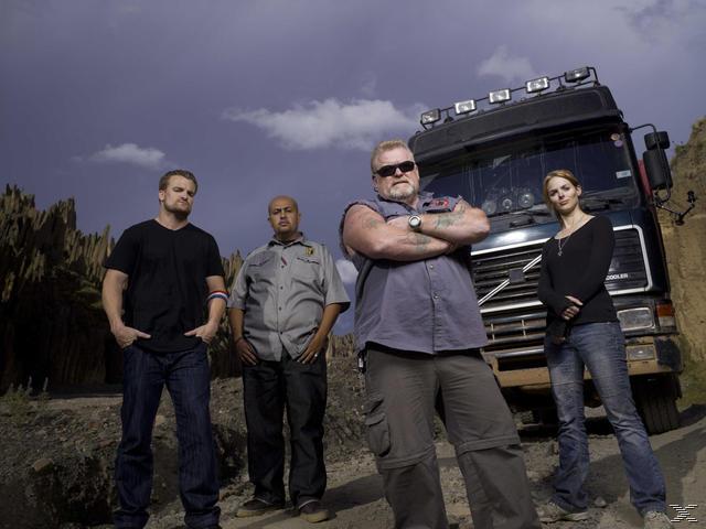 Ice Road Truckers: Tödliche Strassen - Trucker in gefährlicher Mission - Staffel 2: Die Anden - (DVD)