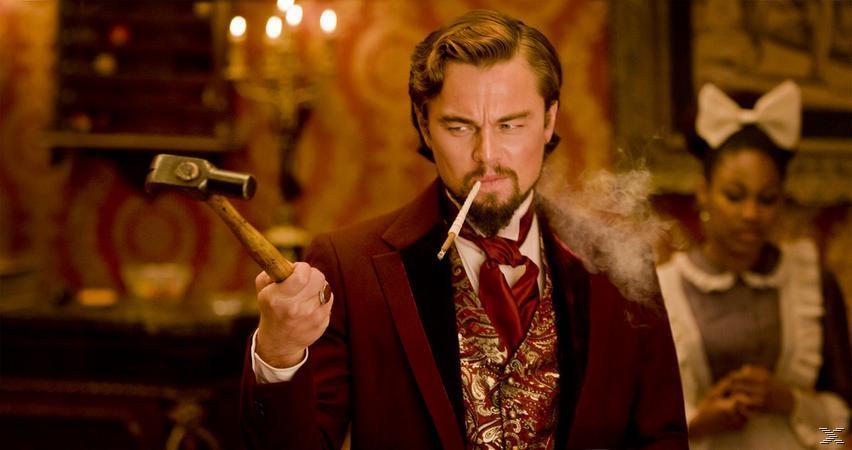 Django Unchained Western Blu-ray
