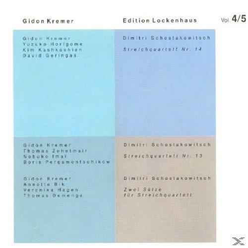Streichquart.Ed.Lockenhaus 4+5