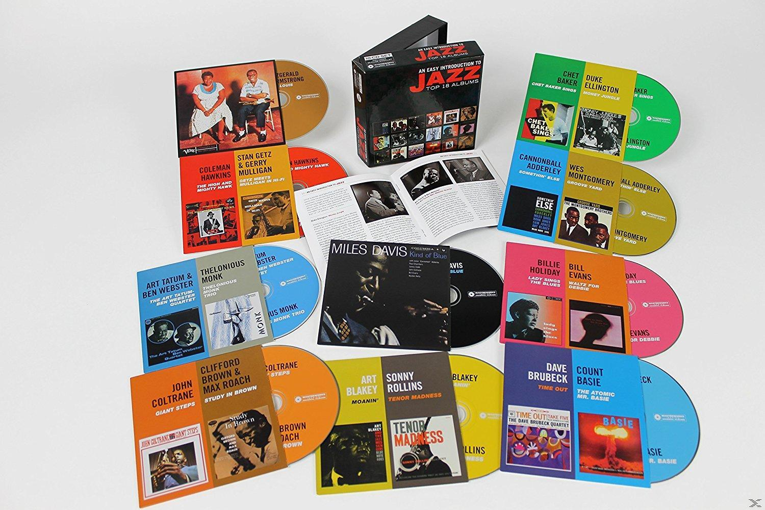 AN EASY INTRODUCTION TO JAZZ (10CD)