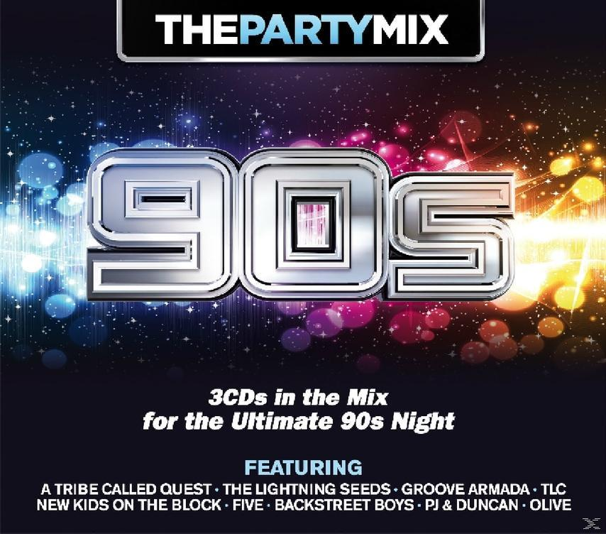 PARTY MIX - 90S (3CD)