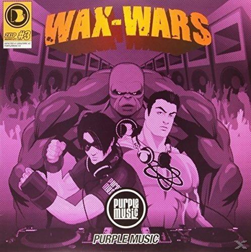 WAX WARS PART 3 (2LP)