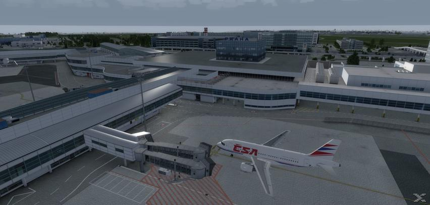 Flight Simulator X - Mega Airport Prag - Add-On - PC