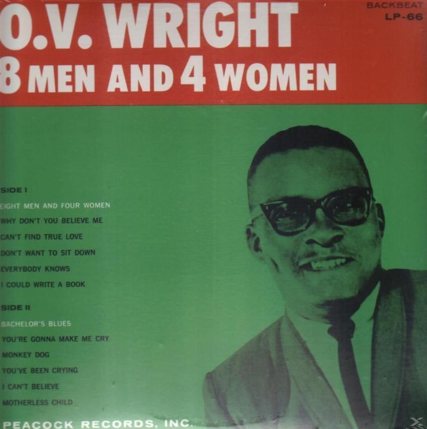 8 MEN AND 4 WOMEN (LP)