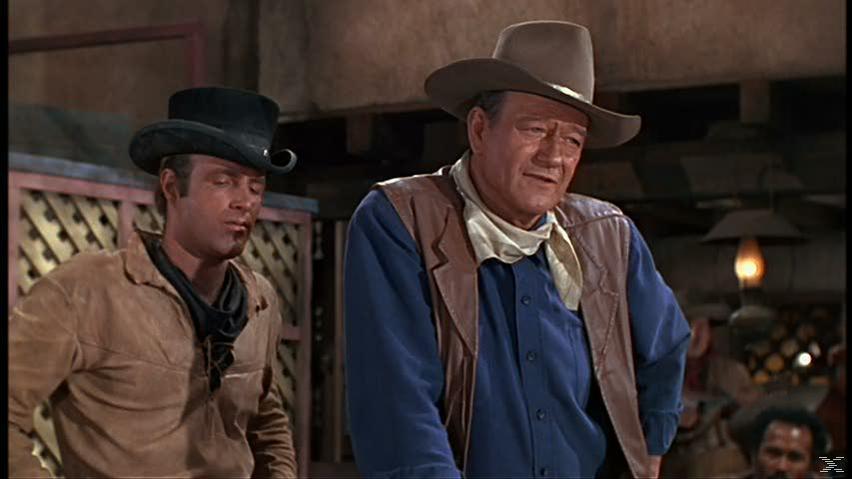 John Wayne Western Western Box - (DVD)
