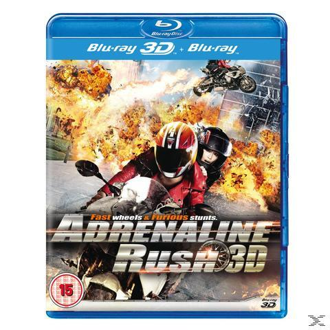 Adrenaline Rush 3D - 2 Disc Bluray