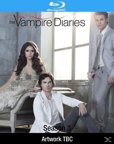 The Vampire Diaries - Season 3 - 4 Disc Bluray