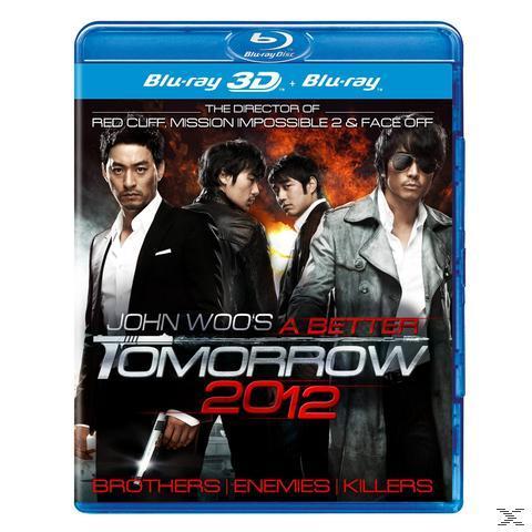 A Better Tomorrow 2012 - 2 Disc Bluray