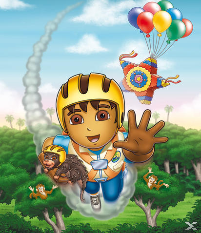 Go Diego Go!: Regenwald-Party! - (DVD)