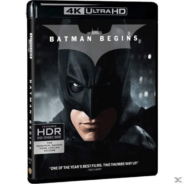 4K BATMAN BEGINS BOX [BLU RAY]