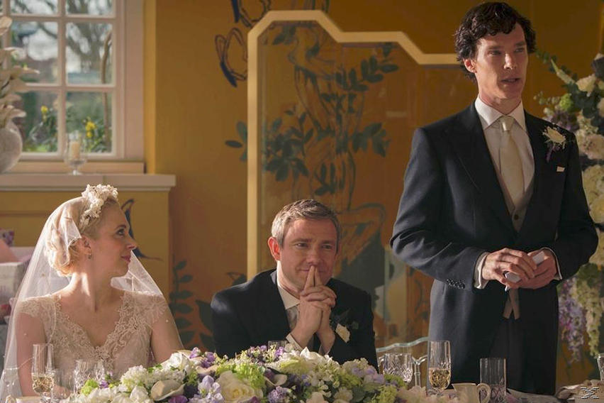 Sherlock - Staffel 3 (Spezial Edition) - (Blu-ray)