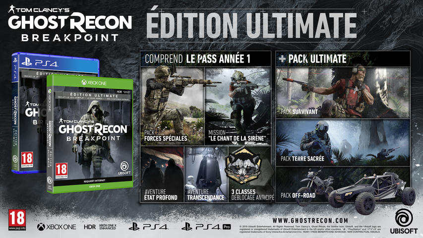 Tom Clancy's Ghost Recon Breakpoint Ultimate Edition für PlayStation 4