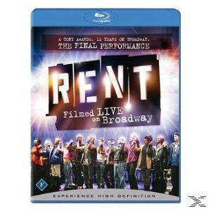 Rent : Filmed Live In Broadway