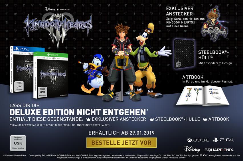 Kingdom Hearts III Deluxe Edition für Xbox One