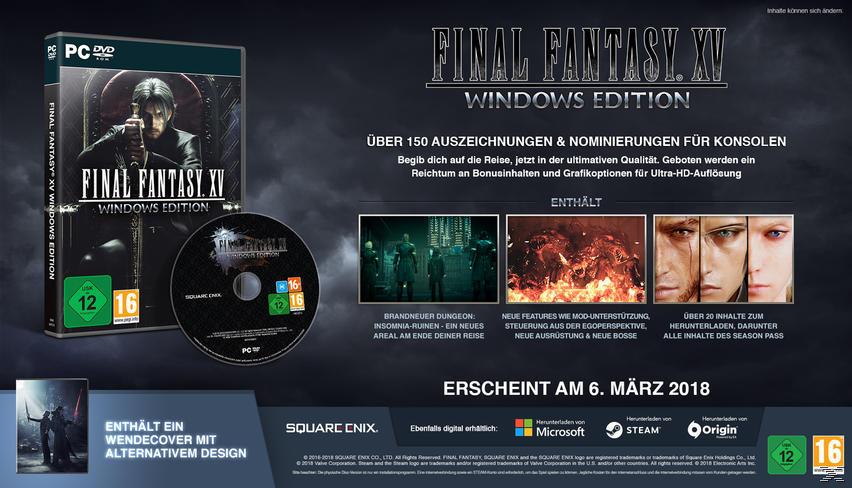 Final Fantasy XV: Windows Edition - PC