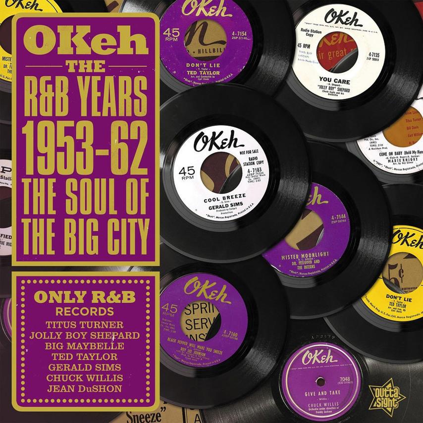 OKEH THE R&B YEARS 1953-62 (LP)