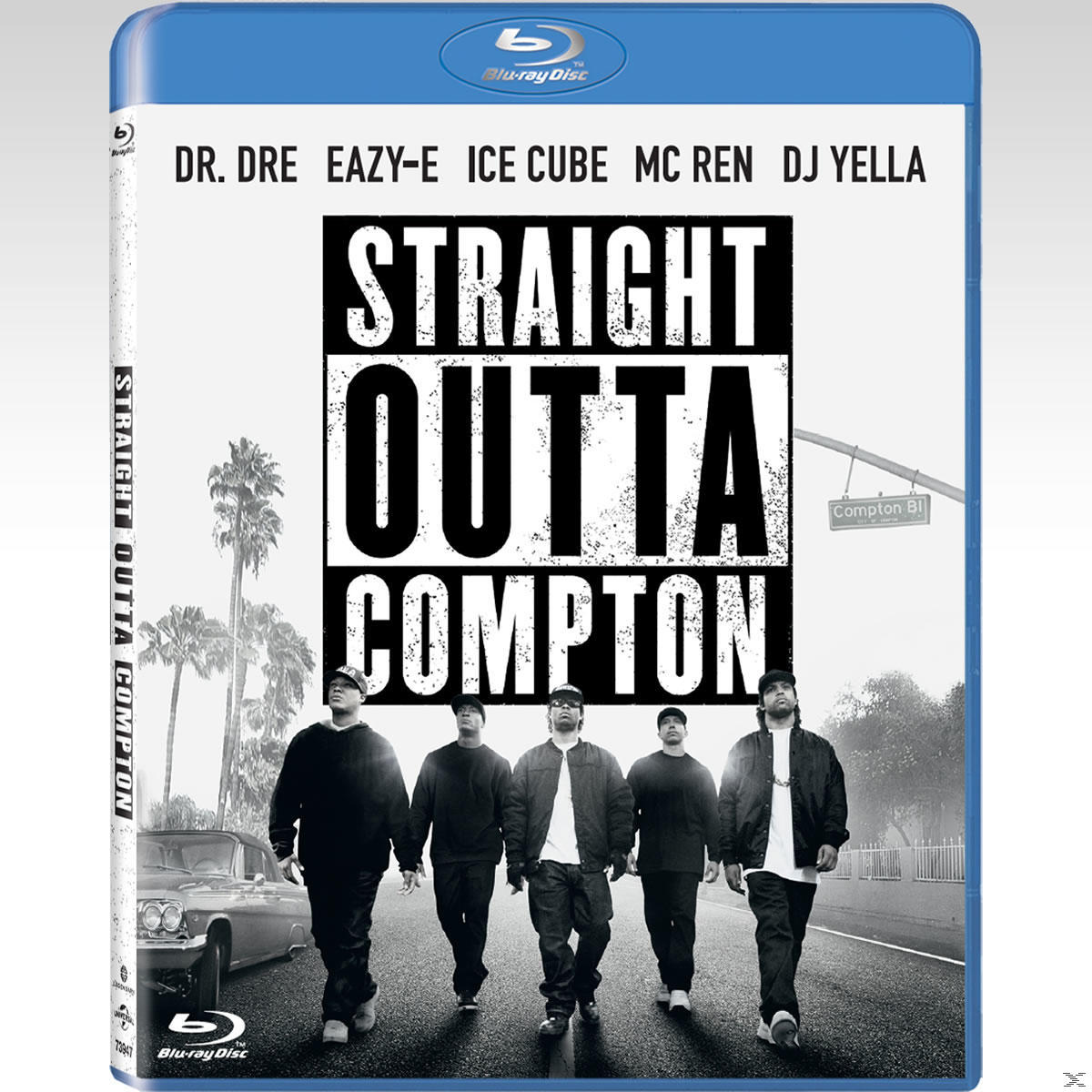 STRAIGHT OUTTA COMPTON (BLU RAY)