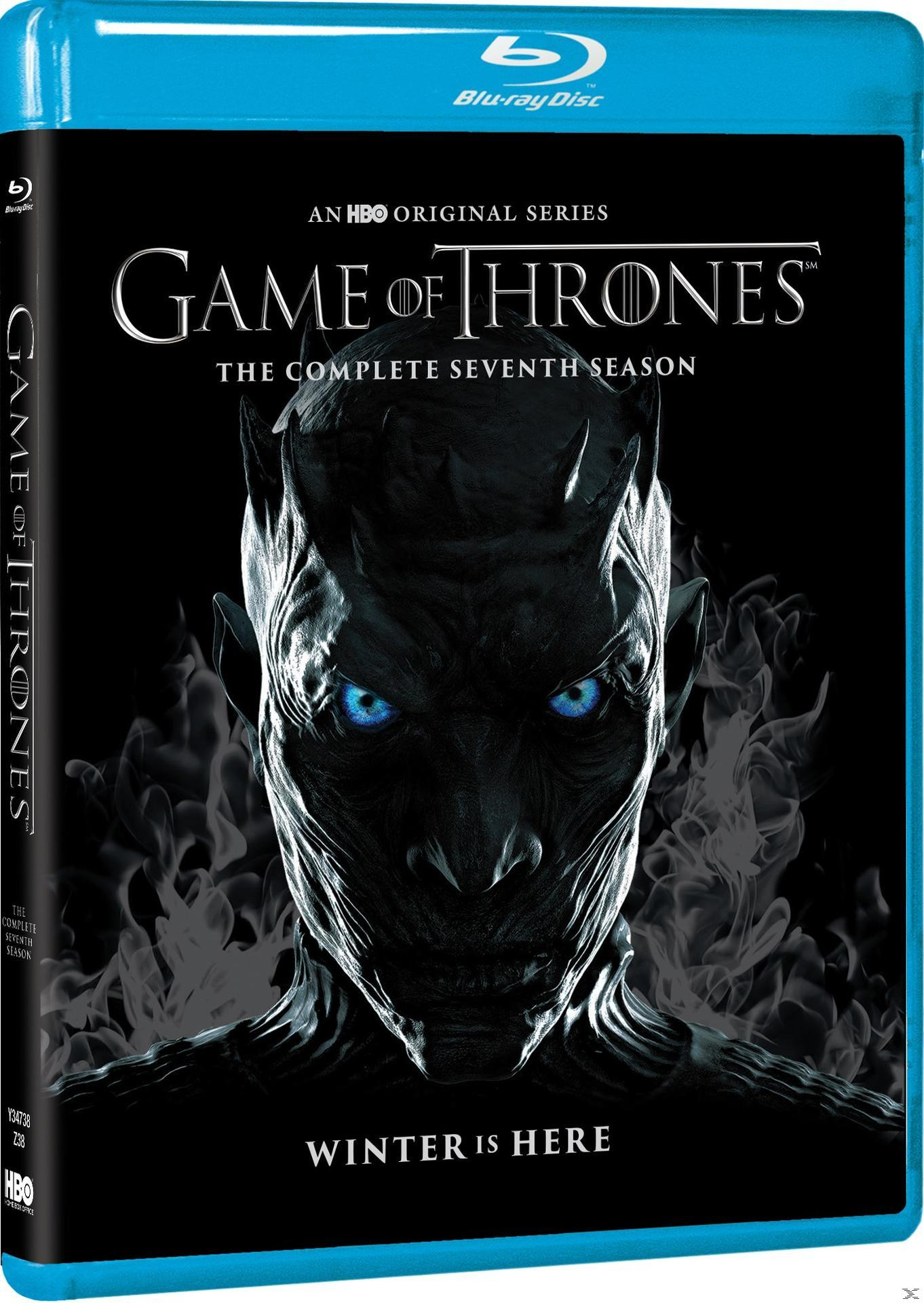 GAME OF THRONES SEASON 7 [BLU RAY]