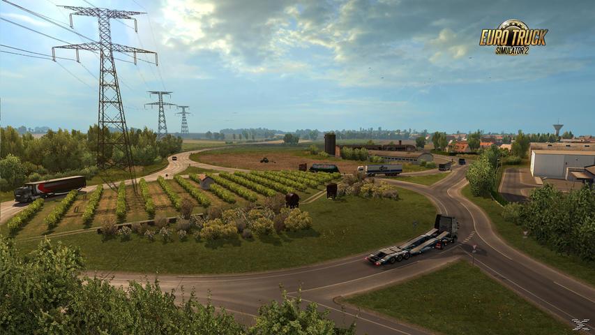 Euro Truck Simulator 2: Vive la France ! (PC)