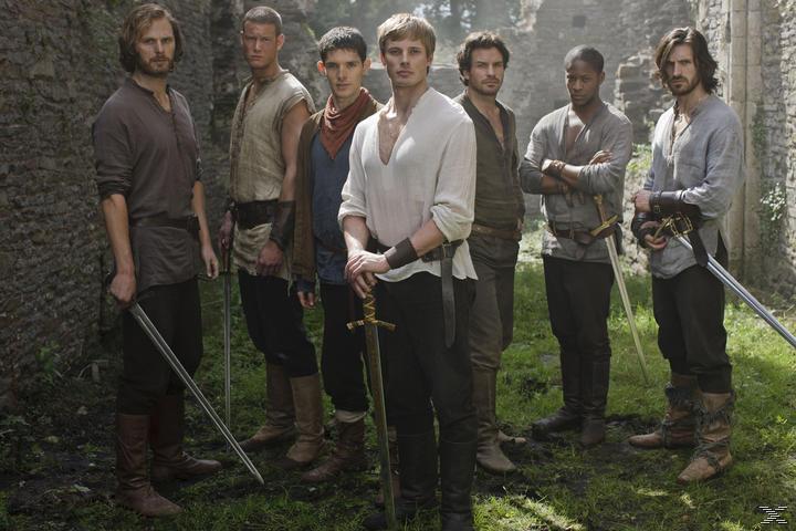 Merlin - Die neuen Abenteuer - Staffel 4.2 (Volume 8) [DVD]