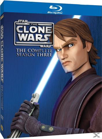 Star Wars: The Clone Wars - The Complete Season Three Bluray Box