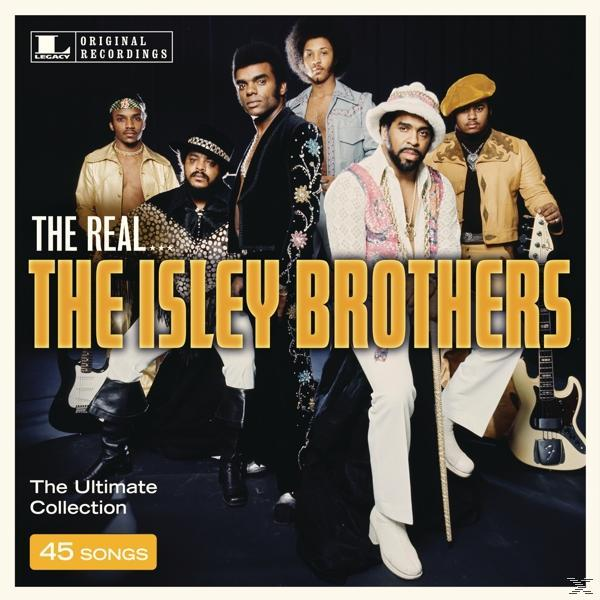 THE REAL… THE ISLEY BROTHERS (3CD)