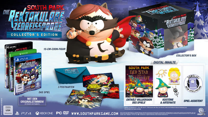 South Park: Die rektakuläre Zerreissprobe - Collector's Edition [Xbox One]