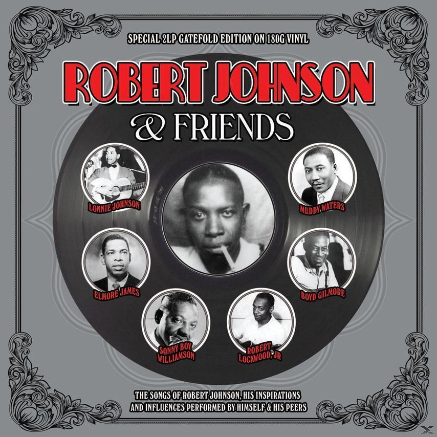ROBERT JOHNSON & FRIENDS (2LP)
