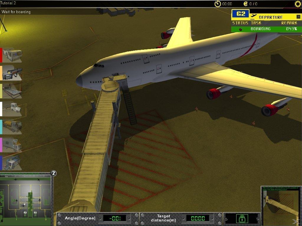 airport simulation java