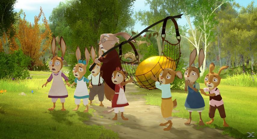 Die Häschenschule - Jagd nach dem goldenen Ei - (DVD)