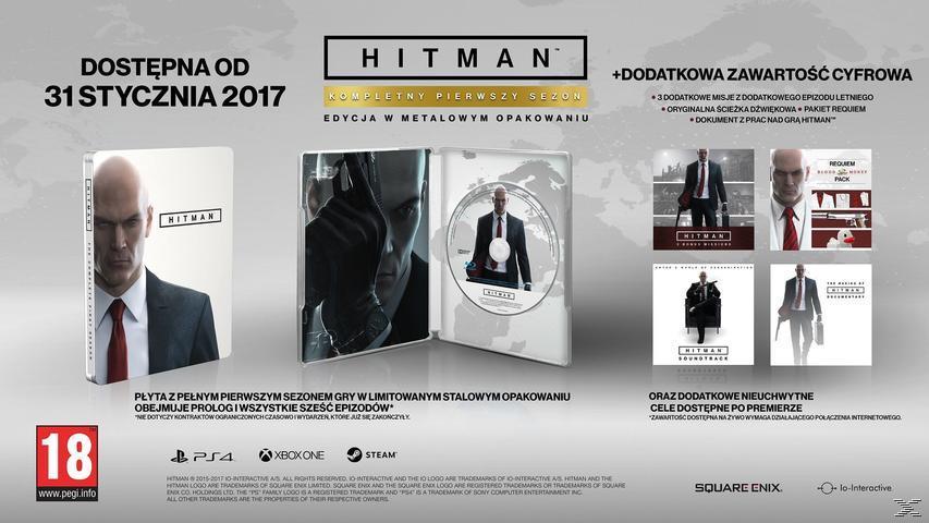 Hitman: The Complete First Season (Steelbook) (PlayStation 4)