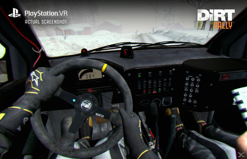 PS4 DiRT Rally plus VR Upgrade Rennspiel