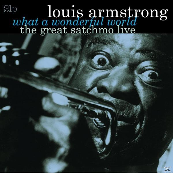 GREAT SATCHMO LIVE/WHAT (2LP)
