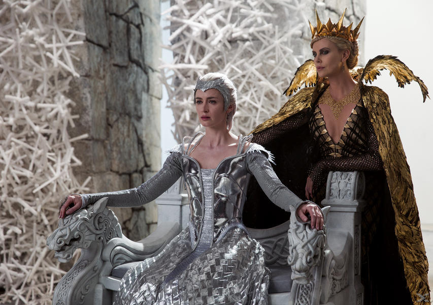 The Huntsman & The Ice Queen - (DVD)