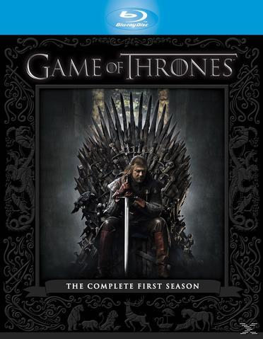 Game of Thrones - The Complete First Season Bluray Box