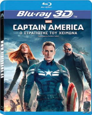 CAPTAIN AMERICA 2:ΣΤΡΑΤ. 3D[&2D BLU RAY]