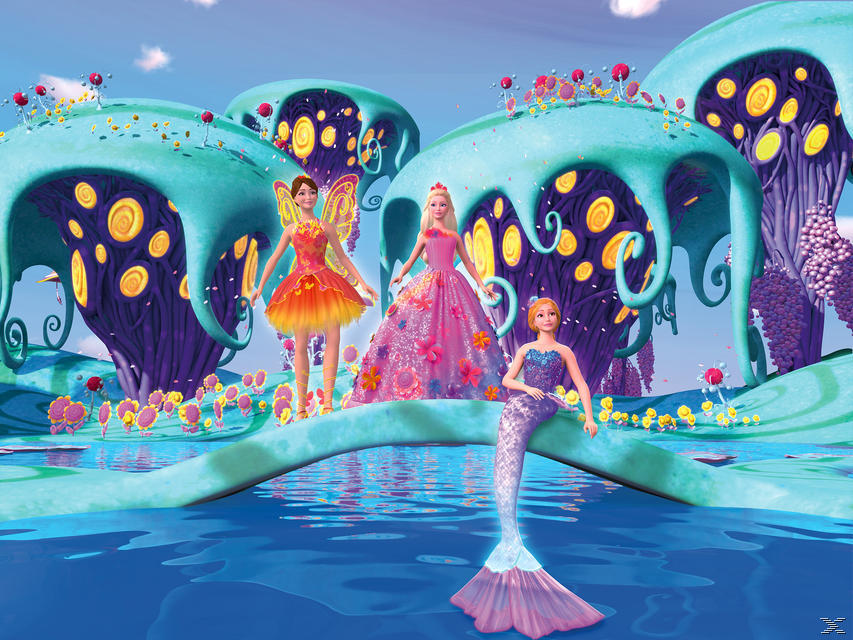 Barbie et la portes secrète Blu-ray