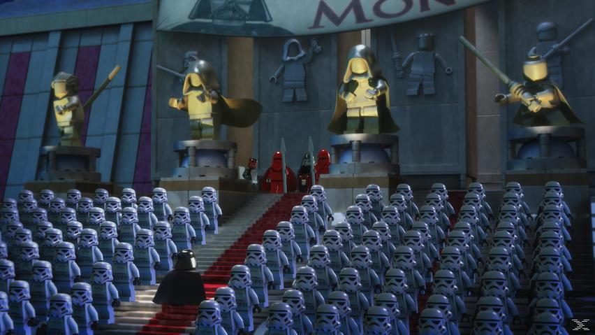 LEGO® Star Wars®: Das Imperium schlägt ins Aus - (DVD)