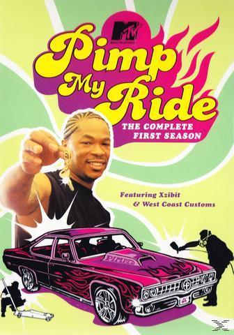 Mtv'S Pimp My Ride - The Complete 1St Season Dvd-Box