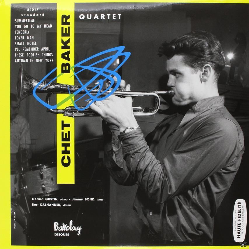 CHET BAKER QUARTET (LP)